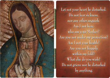 Our Lady of Guadalupe (Bust) Diptych