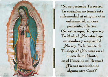 Our Lady of Guadalupe (Spanish) Diptych