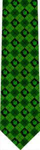 Shamrock Argyle Tie