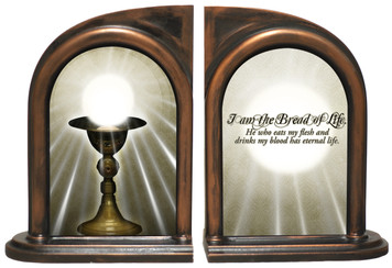 Chalice, I am the Bread of Life Bookends