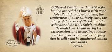 Bl. John Paul II Beatification Mug With Prayer