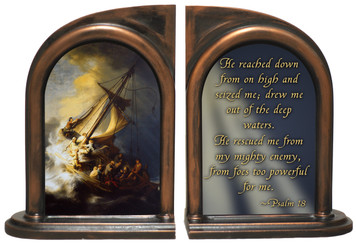 Storm on the Sea of Galilee Bookends