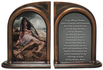 Pieta (Jenicke) Bookends