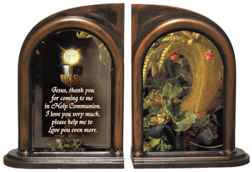 Eucharist Host and Chalice Bookends