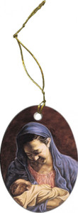 Madonna and Child (Jenicke) Ornament