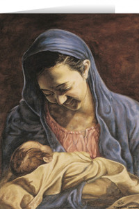 Madonna and Child (Jenicke) Greeting Card