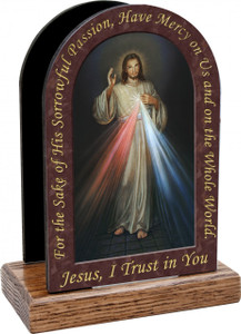 Divine Mercy Prayer Table Organizer (Vertical)