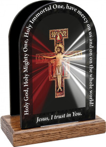 San Damiano Divine Mercy Table Organizer (Vertical)