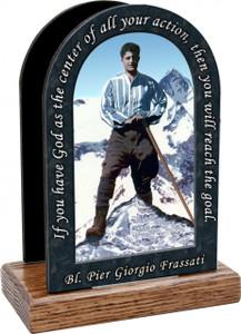 Bl. Pier Giorgio Prayer Table Organizer (Vertical)