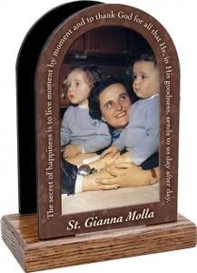 St. Gianna Molla Prayer Table Organizer (Vertical)