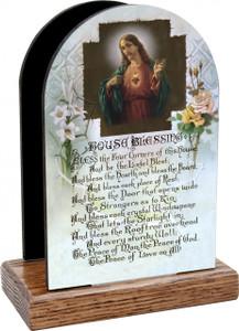 House Blessing Prayer Table Organizer (Vertical)