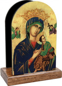 Our Lady of Perpetual Help Table Organizer (Vertical)
