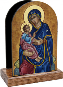 Our Lady of Good Health Table Organizer (Vertical)