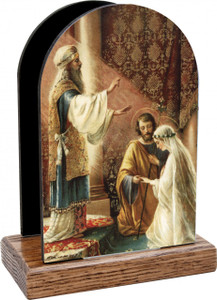 Wedding of Joseph and Mary Table Organizer (Vertical)