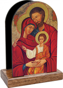 Holy Family Icon Table Organizer (Vertical)