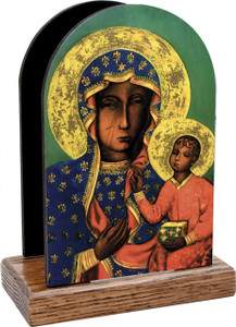 Our Lady of Czestachowa Table Organizer (Vertical)