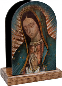 Our Lady of Guadalupe Table Organizer (Vertical)