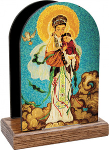 Our Lady of China Table Organizer (Vertical)