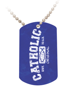 Catholic Original Dog Tag