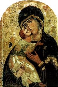 Our Lady of Vladimir Arched Magnet