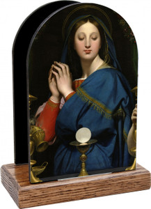Madonna of the Host Table Organizer (Vertical)