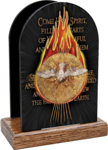 Come Holy Spirit Table Organizer (Vertical)