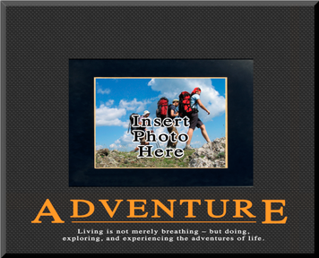 """""""Adventure"""" Picture Frame"""