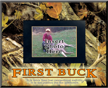 """""""First Buck"""" Picture Frame"""