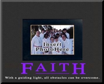 """Faith"" Picture Frame"