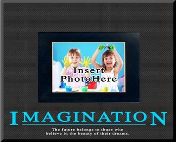 """Imagination"" Picture Frame"