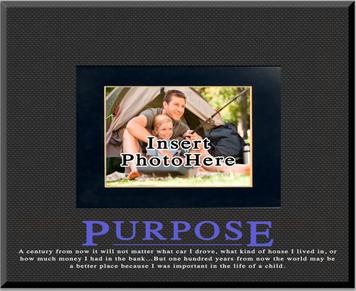 """Purpose"" Picture Frame"