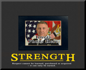 """""""Strength"""" Picture Frame"""