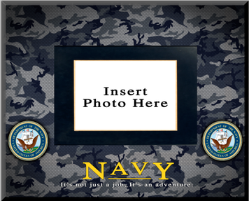 """Navy"" Picture Frame"