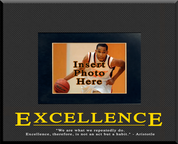 """""""Excellence"""" Picture Frame"""