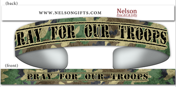 Pray for our Troops Bracelet