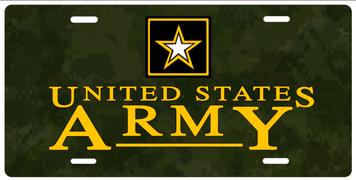 ARMY License Plate