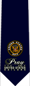 Pray for Our Navy Tie