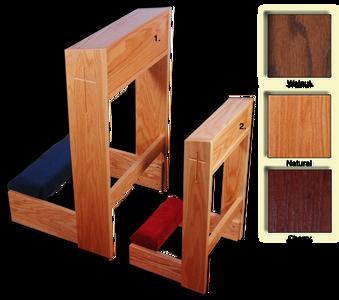 Wooden Carved Kneeler
