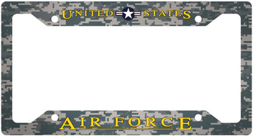Air Force Plate Frame