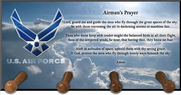 Airmen Prayer Keychain Holder