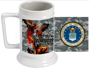 St Michael Air Force Beer Stein