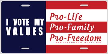 I Vote My Values