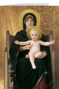 Virgin and Child Christmas Card Set