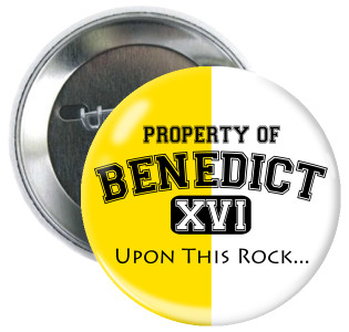 Property of Benedict XVI Button