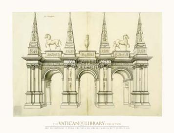 Arc Triumphant II Paper Print