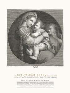 Madonna della Seggiola Paper Print
