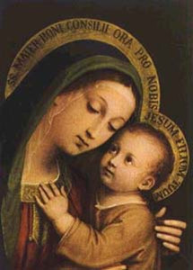 Our Lady of Good Counsel print