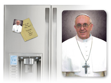 Pope Francis Formal Magnet