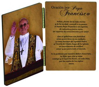Papa Francisco Dar Diptico Bendicion