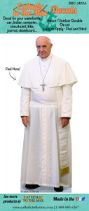 Pope Francis Decal